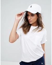 Gorra inglesa blanca de Polo Ralph Lauren