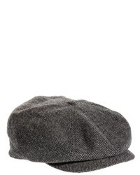Gorra inglesa de espiguilla gris de Brixton