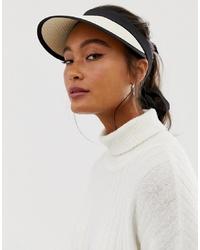 Gorra inglesa de paja en beige de ASOS DESIGN