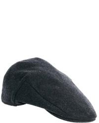 Gorra inglesa en gris oscuro de Asos