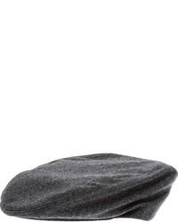 Gorra inglesa en gris oscuro de Dondup