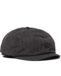 Gorra inglesa en gris oscuro de RRL