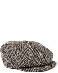 Gorra inglesa en marrón oscuro de Lock & Co Hatters