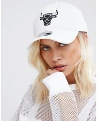 Gorra inglesa estampada blanca de New Era