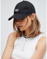 Gorra inglesa estampada negra de Cheap Monday