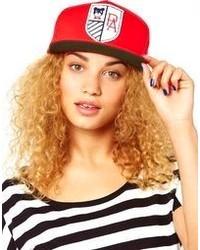 Gorra inglesa estampada roja de Profound Aesthetic