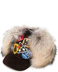 Gorra inglesa marrón claro de Dsquared2