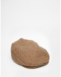 Gorra inglesa marrón de Brixton