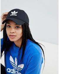 Gorra inglesa negra de adidas Originals