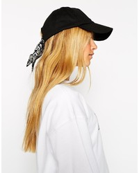 Gorra inglesa negra de Asos