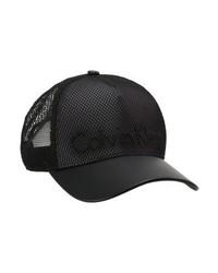 Gorra Inglesa Negra de Calvin Klein
