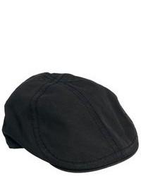 Gorra inglesa negra de Goorin Bros.