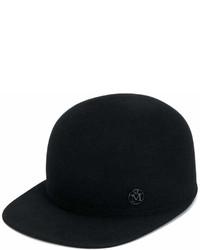Gorra inglesa negra de Maison Michel