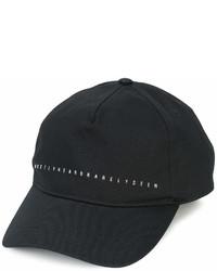 Gorra inglesa negra de MOSTLY HEARD RARELY SEEN