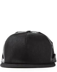 Gorra inglesa negra de Rick Owens