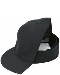 Gorra inglesa negra de Yohji Yamamoto