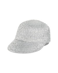 Gorra inglesa plateada