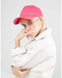 Gorra inglesa rosa de Asos