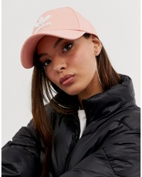 Gorra inglesa rosada de adidas Originals