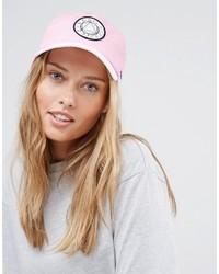 Gorra inglesa rosada de Asos