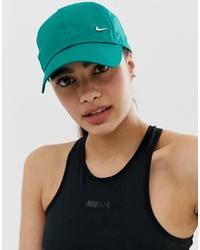 Gorra inglesa verde de Nike