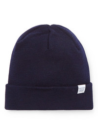 Gorro azul marino de Norse Projects