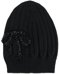 Gorro bordado negro de No.21