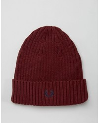 Gorro burdeos de Fred Perry