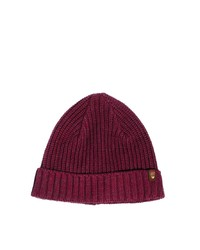Gorro burdeos de Jack & Jones