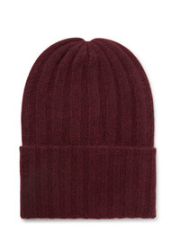 Gorro burdeos de The Elder Statesman