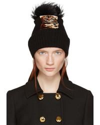Gorro de Pelo Negro de Dolce & Gabbana