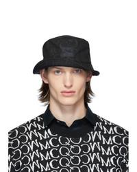 Gorro de pescador estampado negro de McQ Alexander McQueen