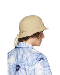 Gorro de pescador marrón claro de Jacquemus