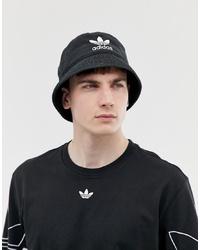 Gorro de pescador negro de adidas Originals