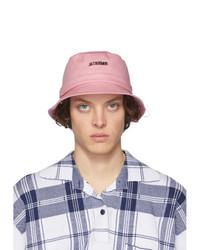 Gorro de pescador rosado de Jacquemus