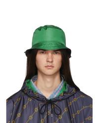 Gorro de pescador verde de Gucci