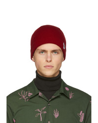 Gorro de punto burdeos de Ps By Paul Smith