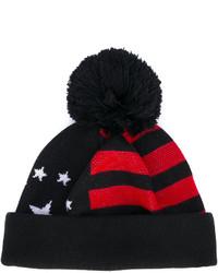 Gorro de rayas horizontales negro de Givenchy