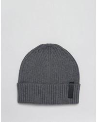 Gorro en gris oscuro de Calvin Klein
