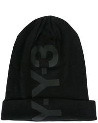 Gorro estampado negro de Y-3