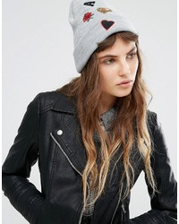 Gorro gris de Miss Selfridge