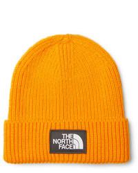 Gorro naranja de The North Face