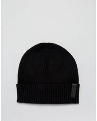 Gorro negro de Calvin Klein
