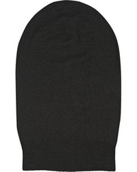 Gorro negro de Rick Owens