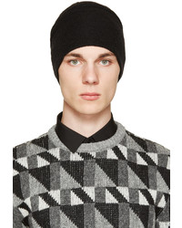 Gorro negro de Saint Laurent