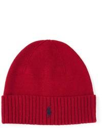 Gorro rojo de Polo Ralph Lauren
