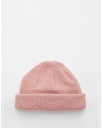 Gorro rosado de Asos