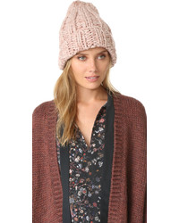 Gorro Rosado de Free People