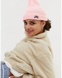 Gorro rosado de Nike