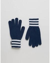 Guantes azul marino de adidas